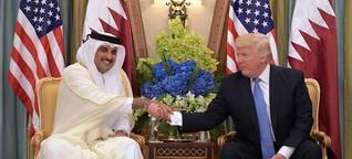 Die USA stehen an der Seite Katars