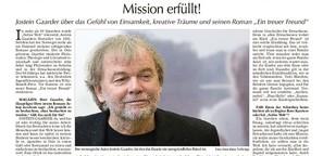 Interview mit Jostein Gaarder