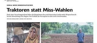 Traktoren statt Miss-Wahlen