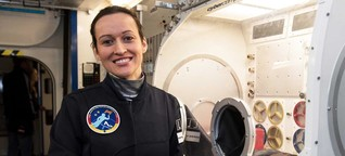 Unsere Frau im All: Kampfpilotin Nicola Baumann | Morgenmagazin