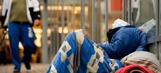 Obdachlose in Deutschland - Ignoriert, ausgeschlossen, beschimpft