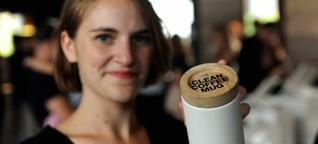 Ökologisches Design: Schicke Schnapsflaschen und nachhaltige Kaffeebecher