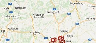 Giftköder in München und Umgebung