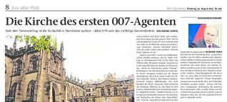 Die Kirche des ersten 007-Agenten