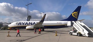Drohnungen von Ryanair: Irische Luftlinie droht Großbritannien