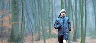 Der Überall-Läufer und sein Basislager