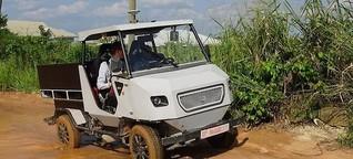 Ein Elektroauto für Afrika