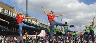 Bratwurst zu Ballett in Tempelhof