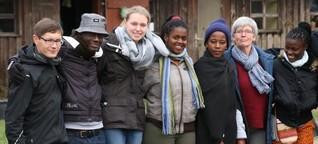 Afrikaner helfen Deutschen - Von Uganda in die deutsche Provinz