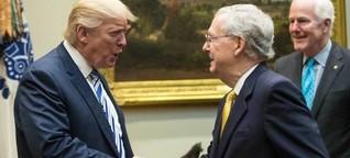 Trump gegen McConnell: Spiel auf Risiko
