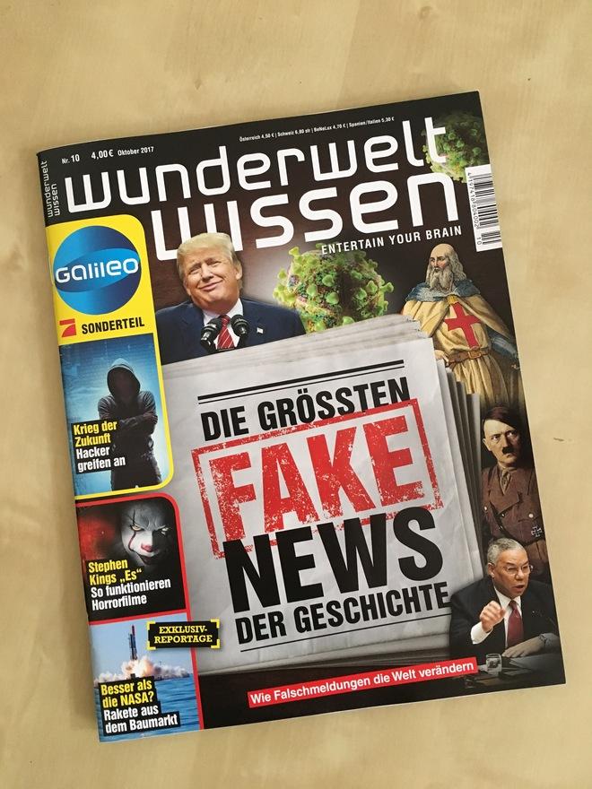 Die größten Fake News der Geschichte
