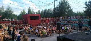 Die ganz besondere Schicht: Artlake Festival 2017 in Brandenburg