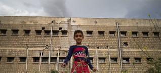 In Saddams Folterburg toben jetzt Kinder