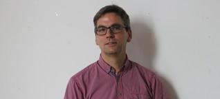 Bundestagswahl - Grünen-Direktkandidat Volker Holzendorf