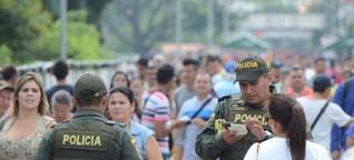 Von Venezuela nach Deutschland aus Todesangst