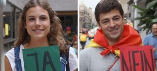 Katalonien-Referendum:  Ja! Nein! Aber!