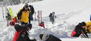 Gefährlicher Schnee - Unterwegs mit den bayerischen Lawinenwarnern | ARD Alpha 12.10., 19:30 Uhr / 13.9. 16 Uhr und 4.11. BR Fernsehen 16:15 Uhr