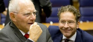 """Schäubles Abschied in Brüssel: """"Für uns alle ein emotionaler Moment"""""""