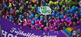 """""""Fußballfans gegen Homophobie"""" im Interview: """"Wir sprechen über Liebe"""""""