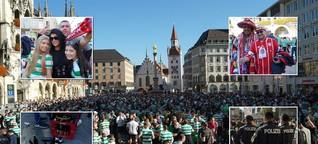 FCB vs. Celtic: Auf dem Marienplatz wird bereits gefeiert