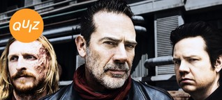 Quiz: Bist du so böse wie The Walking Dead-Fiesling Negan?