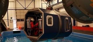Selbstversuch: Absturz im Helikopter