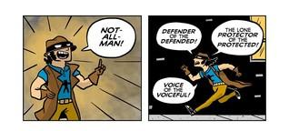 Antiheld: Not-All-Man beschützt diskriminierte Männer