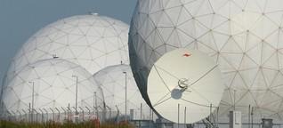 BND-Spionagezentrale in Bad Aibling : Alles so schön rund hier
