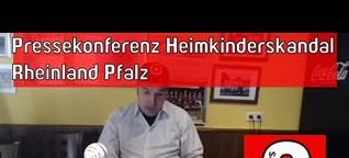 Pressekonferenz Heimkinderskandal