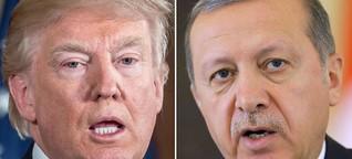 So ticken Trump und Erdoğan: Impulsiver Tycoon trifft kalkulierten Provokateur