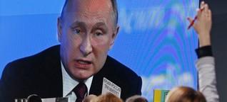 Putin: Russland hat die US-Wahl nicht manipuliert