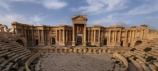 Russische Archäologen wollen Welterbestätte Palmyra wieder aufbauen