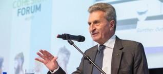 EU: Regionalförderung als Druckmittel?