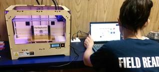 """""""Hört auf, Spielzeug zu drucken, ihr könnt mit 3D-Printern Leben retten!"""""""