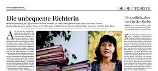 Kirsten Heisig - die unbequeme Richterin