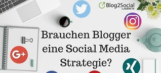 Social Media Strategien für Blogger