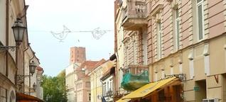Vilnius, ein Best-of Europas