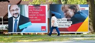 Vor der Bundestagswahl: Studenten als Wahlkampfhelfer