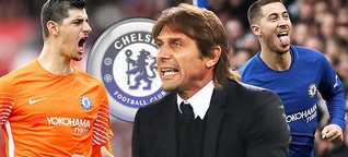 Chelsea Boss wants board to sign a new contract with Eden Hazard, Thibaut Courtois before Russian World Cup 2018