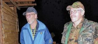 Zwei Pioniere auf Patrouille