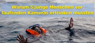 Libysche Küstenwache verhindert Rettung von ertrinkenden Flüchtlingen