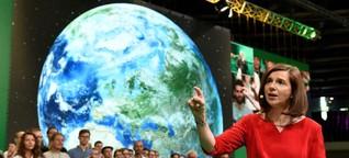 Erde First, Gerechtigkeit First, Grüne auf Platz drei