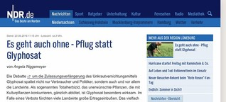 EU-Debatte um Glyphosat
