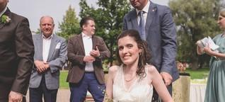 """""""Auch beim Heiraten gehört der Rollstuhl dazu"""""""