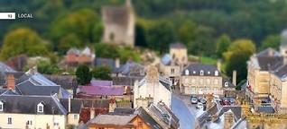 Birne im Weinglas - Normandie