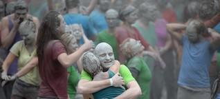 G20-Proteste in grau, grün und bunt