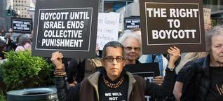 Einreiseverbot für Boykott-Organisationen
