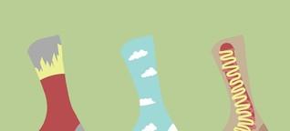 Ode an die Socke: Warum Socken plötzlich cool sind