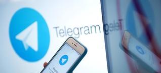 """Wie die Messenger-App """"Telegram"""" die russische Politik beeinflusst"""