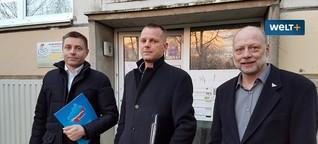 WELT: AfD-Aktion in Schwerin: Platte 25 und die Ohnmacht der Stadt